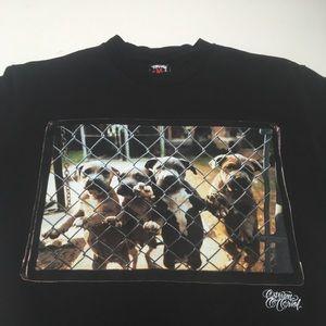 Stussy x Stevan Oriol Pups in the Hood Pit Bull